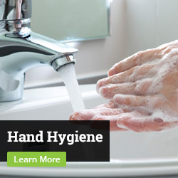 Hand Hygiene. Learn More