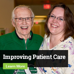 Improving Patient Care. Learn More.