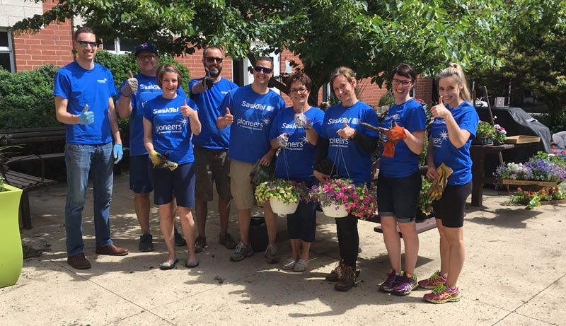 SaskTel Pioneers Volunteers